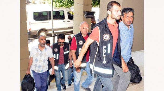 FETÖ şüphelisi 11 polis adliyeye sevk edildi