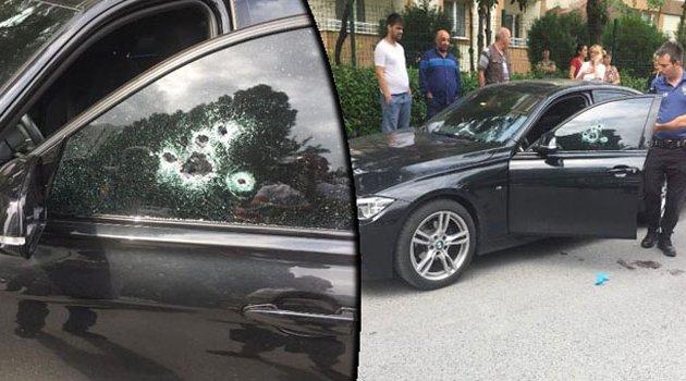 Genç kadın aracında silahlı saldırıya uğradı