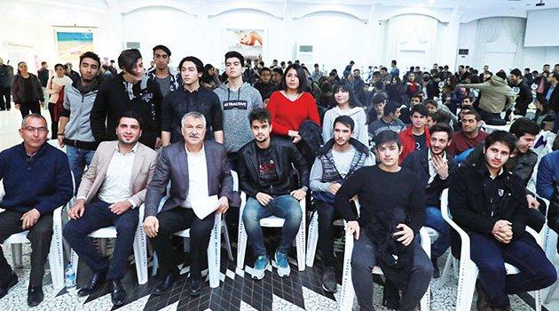 Gençler konuştu Başkan Karalar dinledi