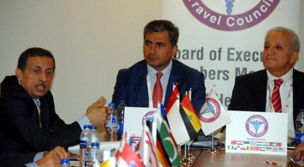 GHTC Başkanı Çakmak, Dünya Başkanlığı'nı Ürdün'e devretti