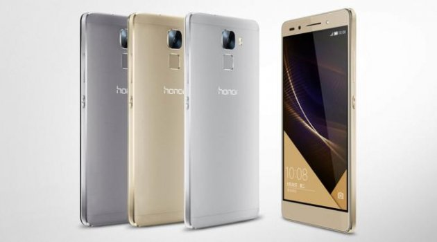 Huawei'nin Honor 7 adlı akıllı telefonu Avrupa'ya çıkartma yapacak!
