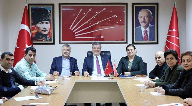 Karalar'dan CHP İl Örgütü'ne ziyaret