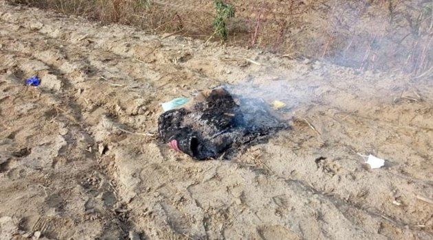 Kayıp şahsın toprağa gömülü cesedi bulundu