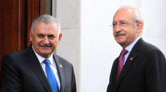 Kılıçdaroğlu'ndan Yıldırım'a geçmiş olsun telefonu