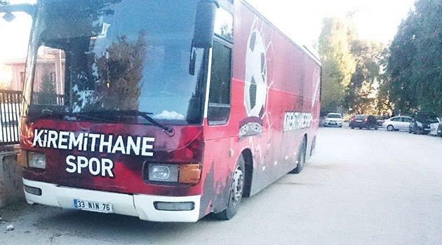 Kiremithanespor'a özel tasarım otobüs