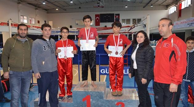 Adana'da Okullararası Küçükler Kick Boks İl Birinciliği