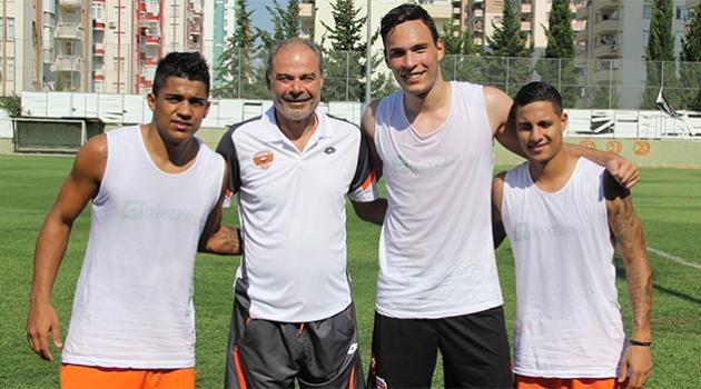 Adanaspor'un Yabancıları İdmanda