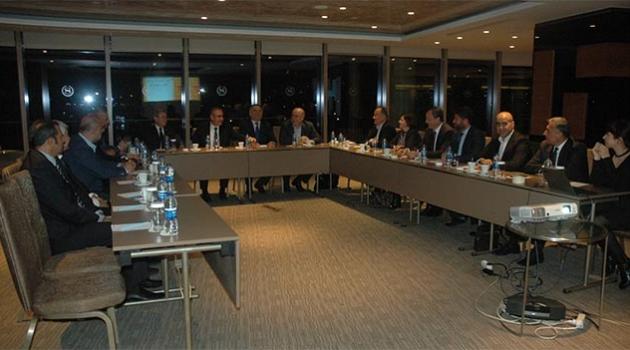 Beyaz Ay Derneği Doğu Akdeniz İstişare Kurulu Adana'da toplandı