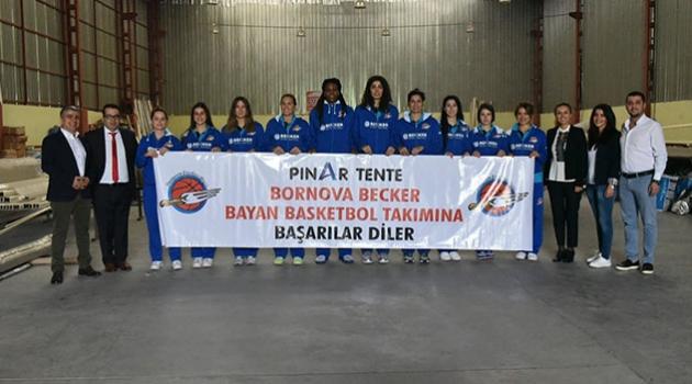 Bornova Beckerspor, Mersin BŞB Gelişim maçı için Adana'ya geldi