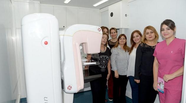 Büyükşehir'den, meme kanseri tarama hizmeti