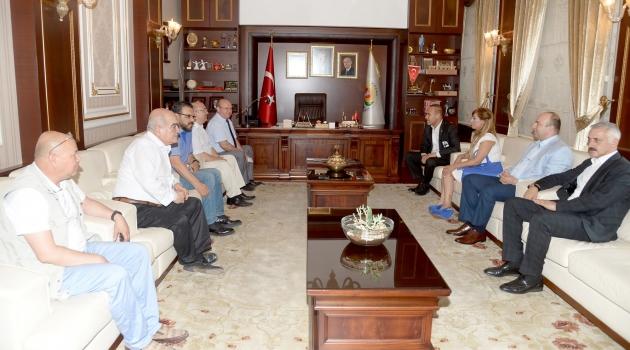ÇGC Yönetiminden, Başkan Sözlü'ye ziyaret