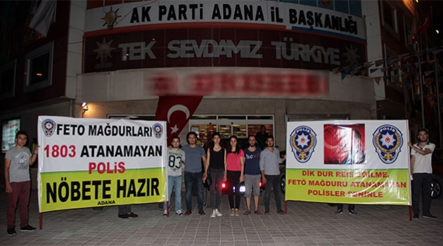 FETÖ Mağduru Polis Adayları Cumhurbaşkanı'ndan Yardım İstedi