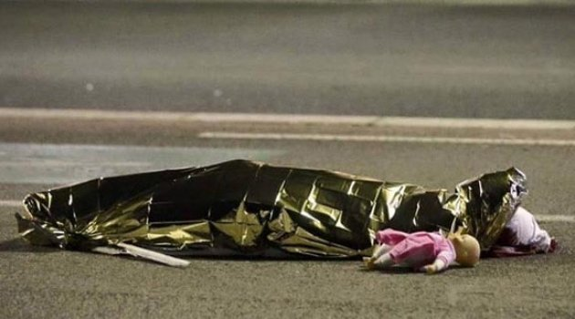 Fransa Nice'de yaşanan terör saldırısına ünlü isimlerden tepki