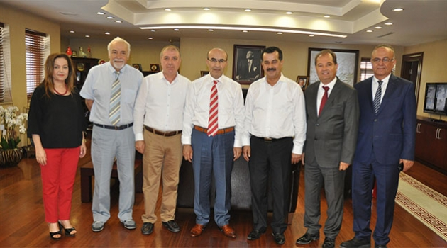 Güçbirliği Vakfı'ndan Vali Demirtaş'a ziyaret