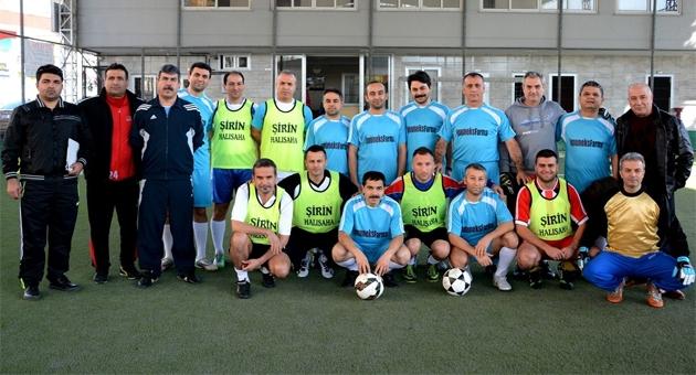 """Hekimlerden """"Şiddete Hayır"""" Futbol turnuvas�"""