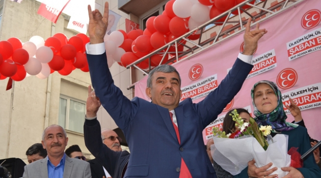 İşadamı Şaban Burak MHP'den Aday Adaylığını açıkladı