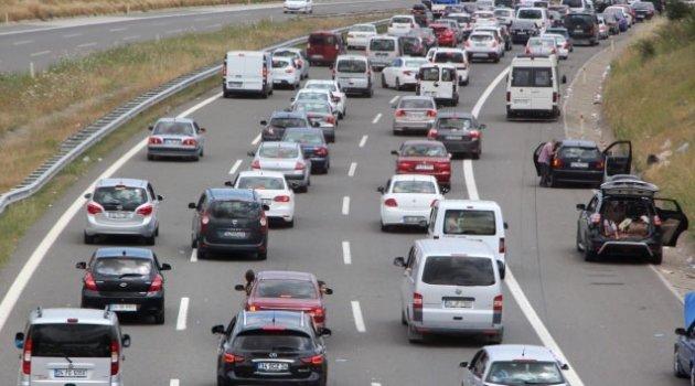 İşte trafiğe kayıtlı araç sayısı