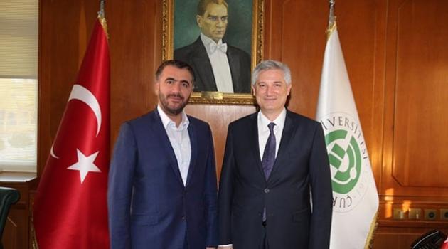 Milletvekili Erdinç Ve Ak Parti İl Başkanı Yeni'den Rektör Kibar'a Hayırlı Olsun Ziyareti