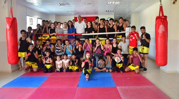 Muay Thai İl Spor Merkezi Kursları Yoğun Bir Şekilde Devam Ediyor