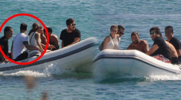 Murat Boz ve Aslı Enver, Acun Ilıcalı'nın teknesinde