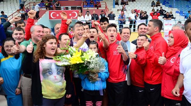 Özel Sporcular Atletizm Türkiye Şampiyonası sona erdi