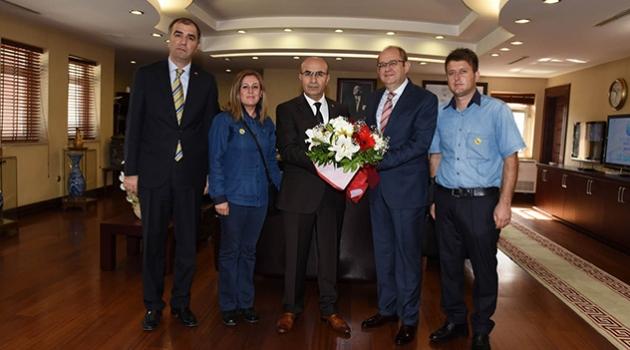 PTT'den Vali Demirtaş'a ziyaret