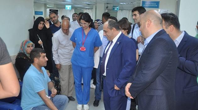 Sağlık Müdürü Dr. Özer hastaneleri denetledi