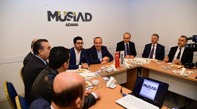 MÜSİAD Adana'yı geliştirecek her projeye destek sağlayacak