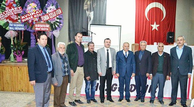 Pozantı'da Yunus Aytekin rakipsiz başkan