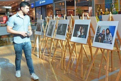 Sevgi Kareleri Adana Optimum'da Sergileniyor