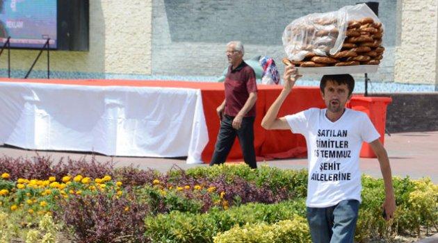 Simitçi, 1 günlük hasılatını 'Demokrasi Şehitleri'ne bağışladı