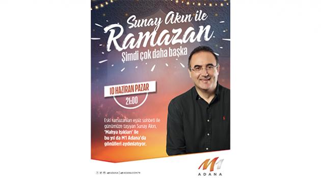 Sunay Akın 10 Haziran'da Adana'da