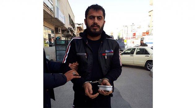 Suriyeli torbacı suçüstü yakaladı