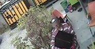 3 hırsızı güvenlik kamerası yakalattı