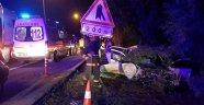 İki otomobil çarpıştı! 1 ölü, 2 yaralı