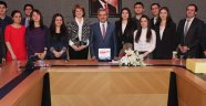 Azeri öğrenciler Ünüvar'ı ziyaret etti