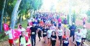 Cumhuriyet koşusunda Türk bayrakları dalgalandı