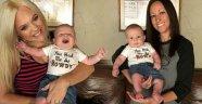 İki kadın aynı çocuğa hamile kaldı