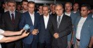 Bakan Yıldız ve Eker, bıçaklanan Milletvekili Adayını ziyaret etti