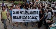 Adana'da kadın cinayetleri protestosu