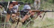 PKK'lıları görüp kaçan şoförü taradılar