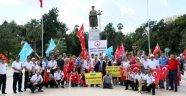 Türkmenler, Referanduma 2 Gün Kala Toplanıp Barzani'ye Seslendi