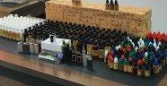 Adana'da Kaçak İçki İmalathanesine Ve Pasaja Operasyon: 5 Gözaltı