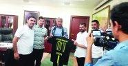 Adana Vefaspor'dan Başkan Karalar'a ziyaret