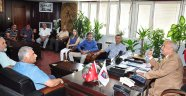 AETESO yeni yönetimi Sözütek'i ziyaret etti