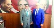 Aladağ'dan il başkanı Avcı'ya ziyaret