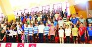 Amatör spor kulüplerine  376 bin lira yardım