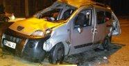 Asker uğurlama dönüşü feci kaza! 1 ölü 7 yaralı