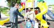 Başkan Sözlü parkları yerinde inceledi