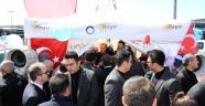 Cumhurbaşkanı 'Hayır' çadırında